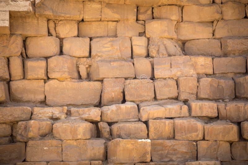 Schließen Sie oben von der großen Pyramide lizenzfreie stockfotos