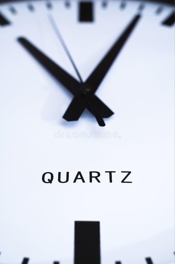 Schließen Sie oben von der großen Uhr. lizenzfreie stockbilder