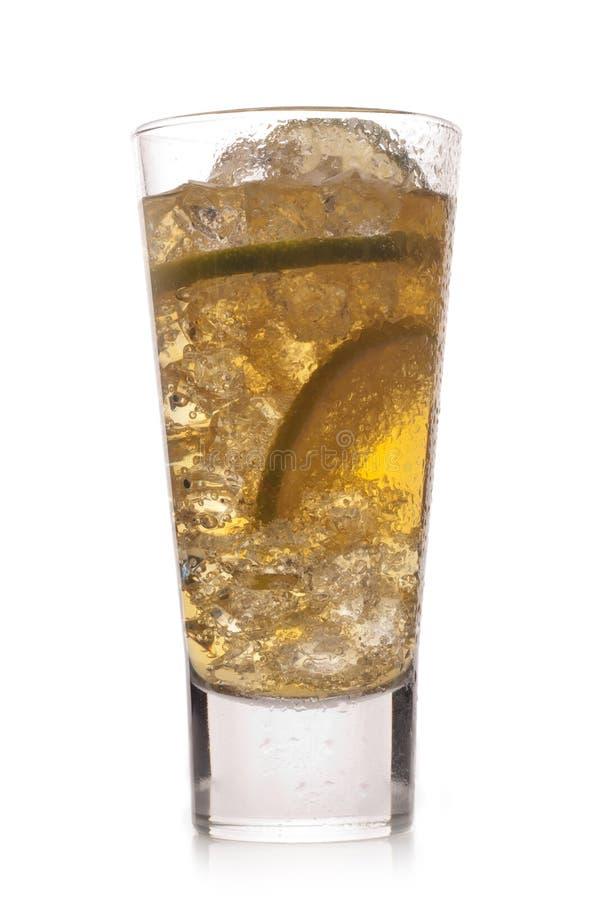 Schließen Sie oben von einem kalten Cocktail lizenzfreie stockfotografie