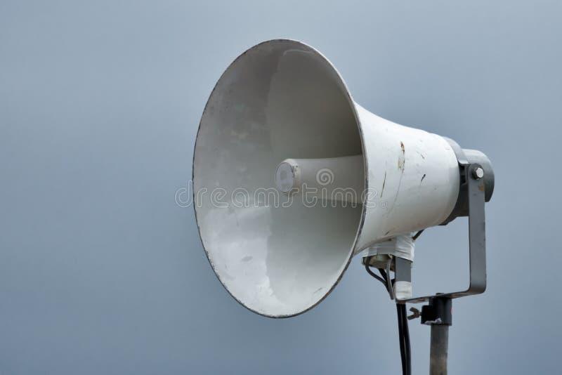 Schließen Sie oben von einem Lautsprecher lizenzfreie stockbilder