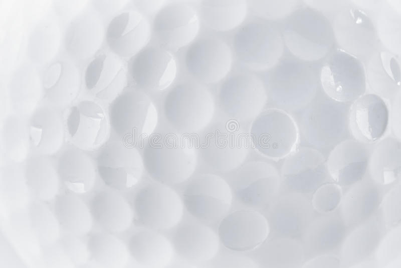 Schließen Sie oben von einer Golfballbeschaffenheit lizenzfreies stockbild