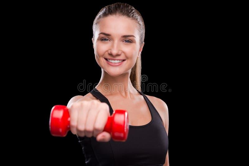 Schließen Sie sich gesundem Lebensstil an! lizenzfreies stockbild