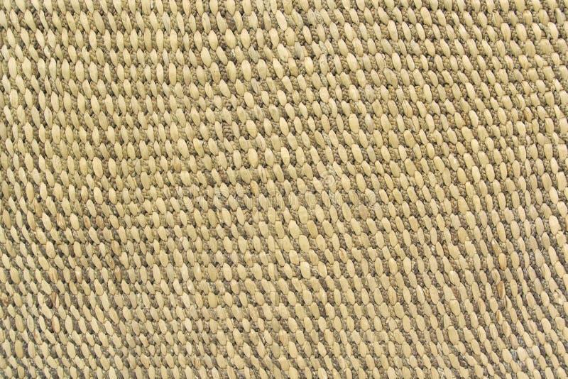Schlie?en Sie herauf Detailansicht eines Weidenkorbgeflechts lizenzfreie stockbilder