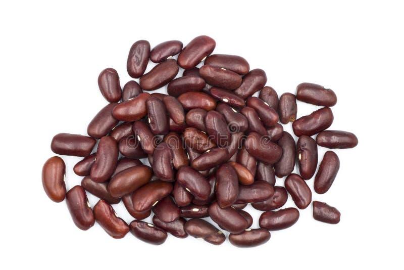 Schlie?en Sie herauf Hintergrund der roten Bohnen, Samen der roten Bohnen stockbild