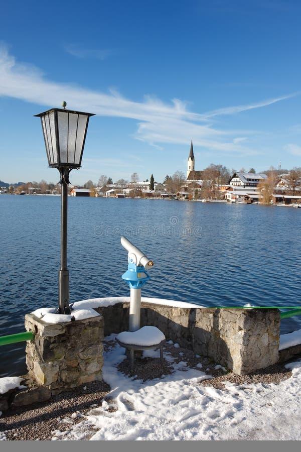 schliersee озера стоковое изображение