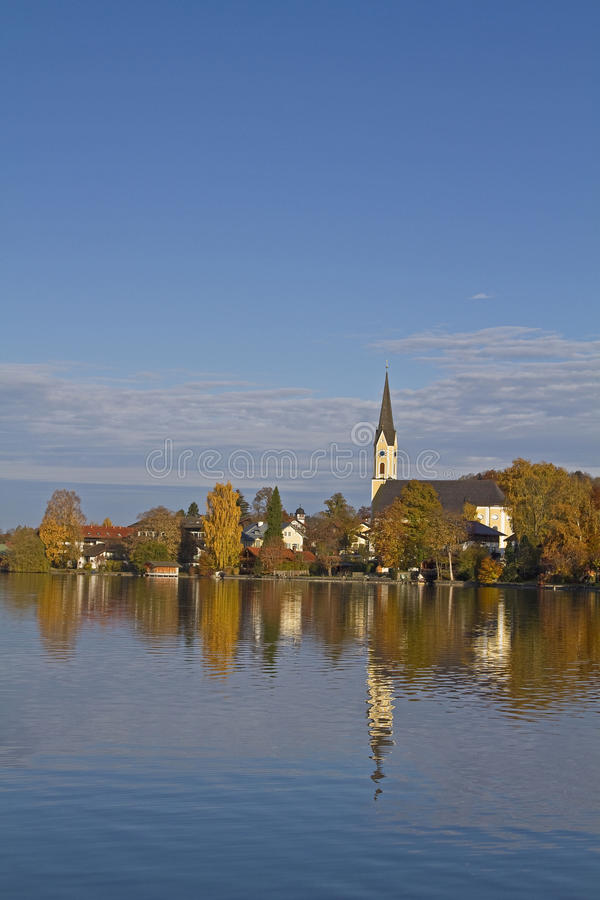 Schliersee stock photography