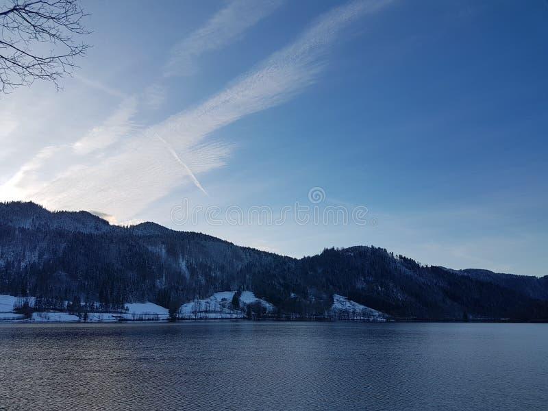 Schliersee en Oberbayern fotografía de archivo libre de regalías