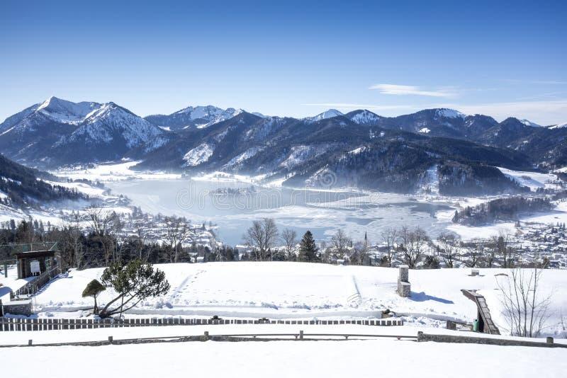 Schliersee Winter royalty free stock photos