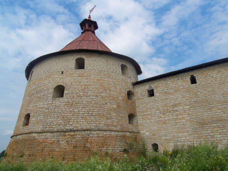 schlisselburg forteczna wieża obserwacyjna obraz stock
