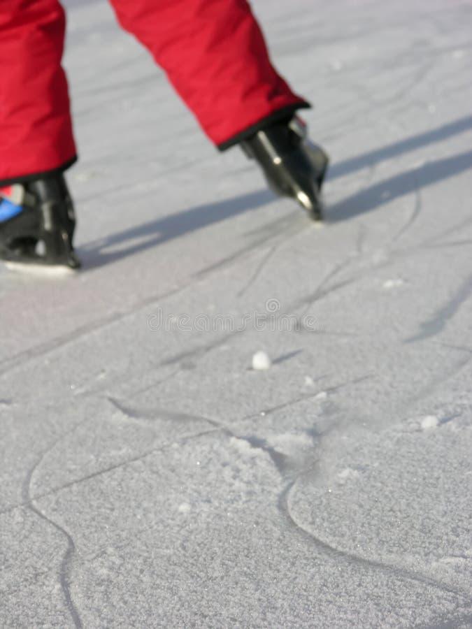 Schlittschuhläufer lizenzfreies stockfoto