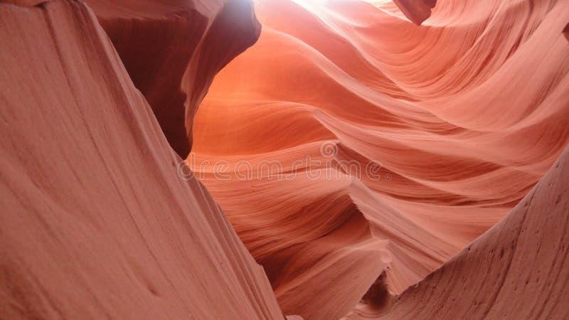 Schlitzschlucht in Arizona lizenzfreies stockbild