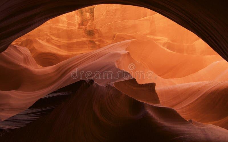 Schlitzschlucht in Arizona lizenzfreie stockfotografie