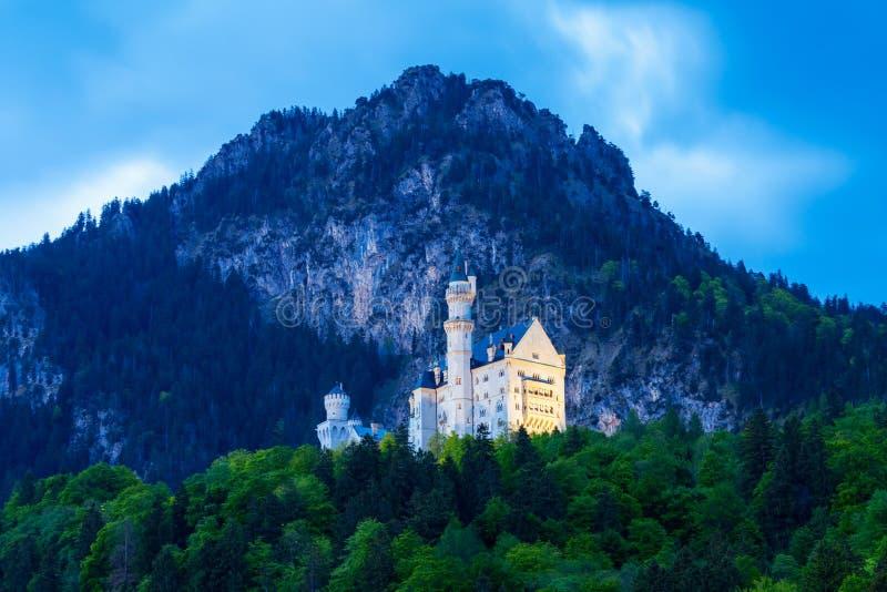 Schloss新天鹅堡城堡,德国 免版税库存图片
