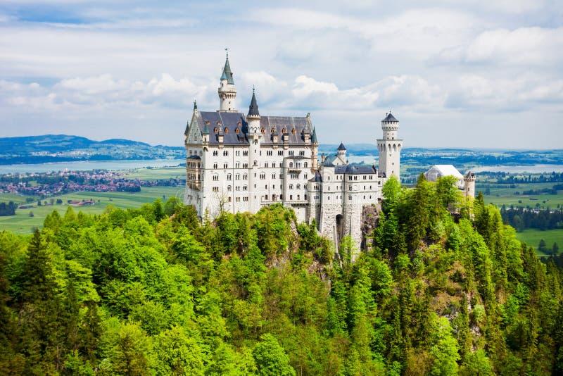 Schloss新天鹅堡城堡,德国 免版税库存照片