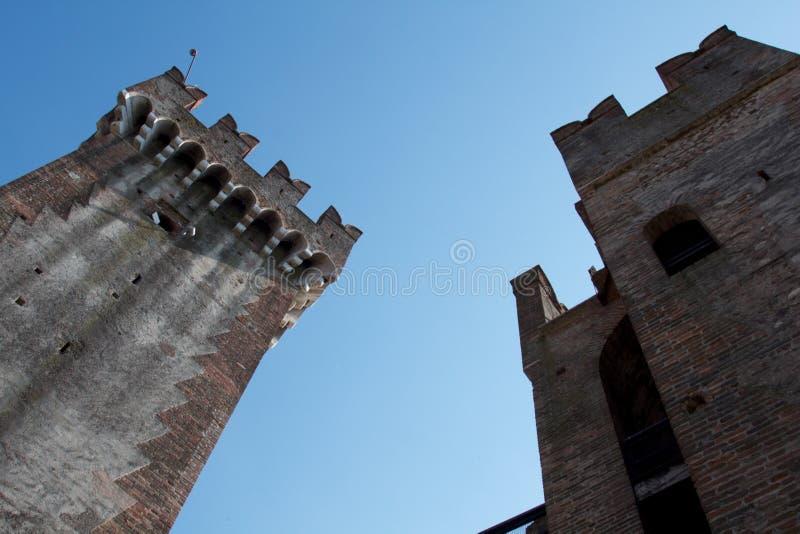 Schloss stockfotografie