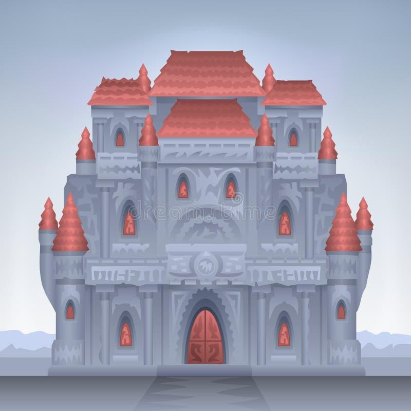 Download Schloss vektor abbildung. Illustration von historisch - 9077181