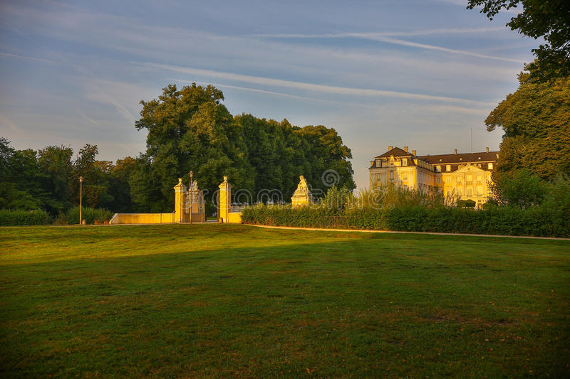 Schloss Augustusburg Brühl. Germany. Augustusburg Castle, often simply called Brühl Palace counts as a favorite residence of the Cologne Elector and royalty free stock image