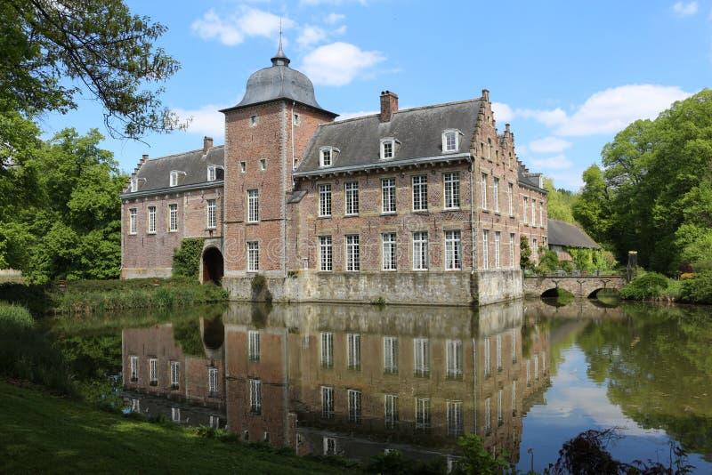 Schloss Belgien Europa lizenzfreie stockfotografie