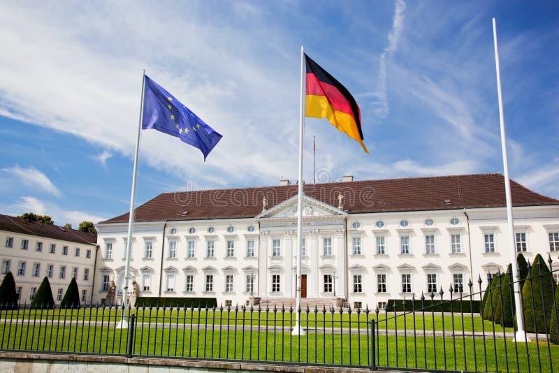 Schloss Bellevue. Προεδρικό παλάτι, Βερολίνο, Γερμανία στοκ εικόνες με δικαίωμα ελεύθερης χρήσης