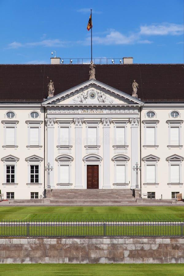 Schloss Bellevue stockfotografie