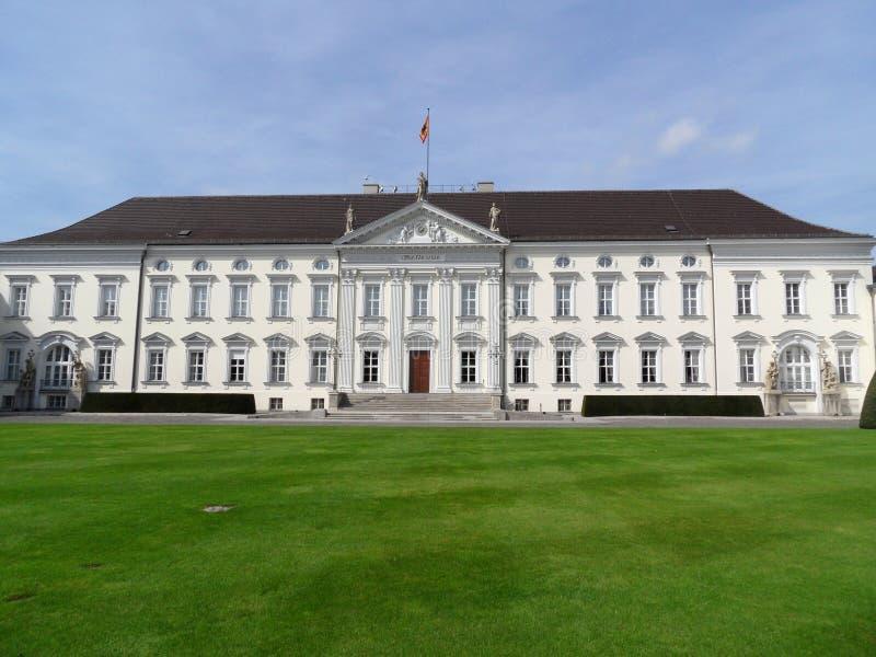 Schloss Bellevue (castelo) de Bellevue, Berlim fotos de stock royalty free