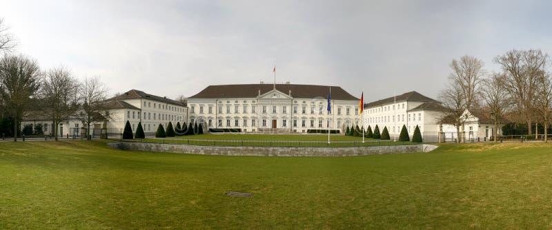 Schloss Bellevue em Berlim fotos de stock