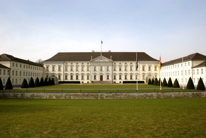Schloss Bellevue em Berlim fotos de stock royalty free
