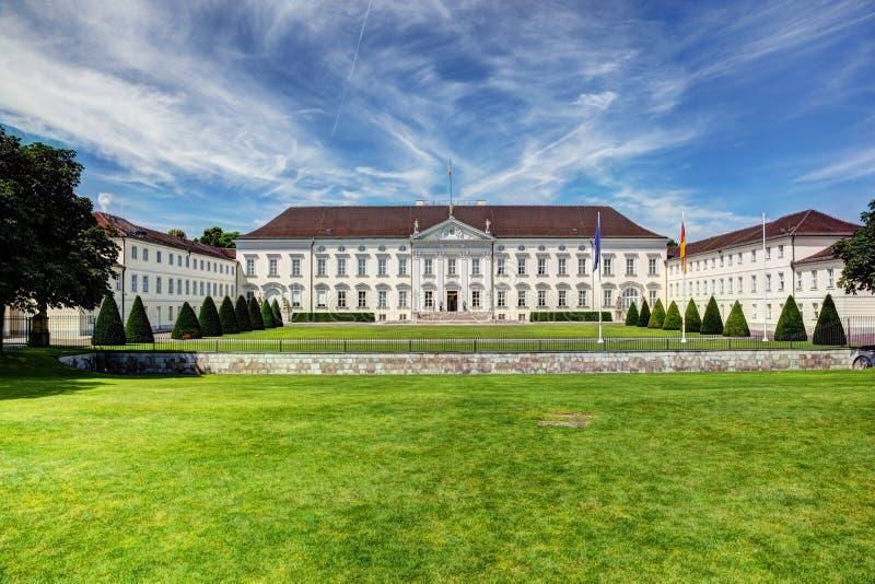 Schloss Bellevue. Präsidentenpalast, Berlin, Deutschland lizenzfreies stockfoto
