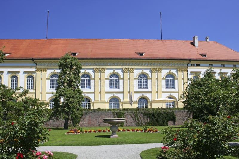 Schloss-Boden in Dachau, Bayern, Deutschland lizenzfreie stockfotos