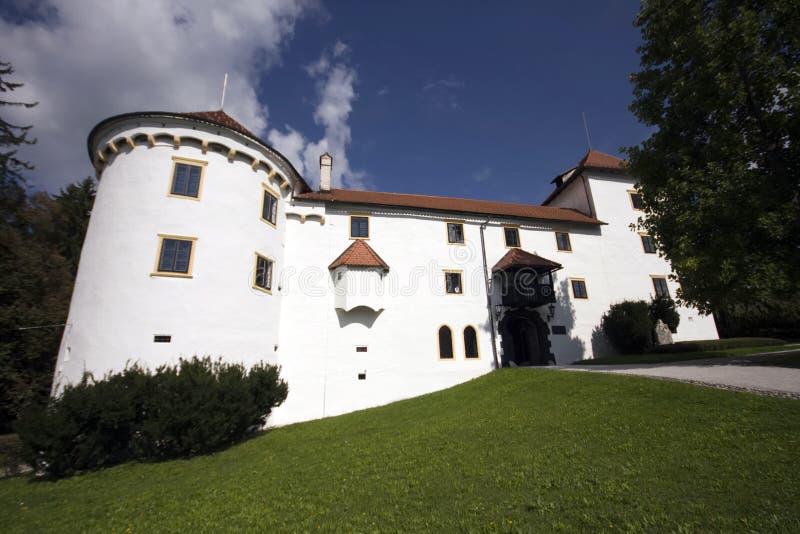 Schloss Bogensperk, Slowenien stockbilder