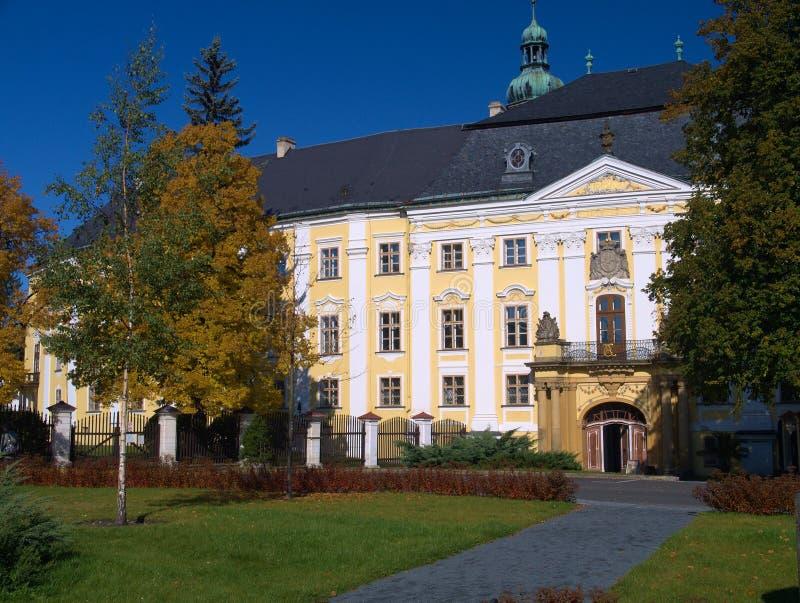 Schloss Bruntal lizenzfreie stockfotografie