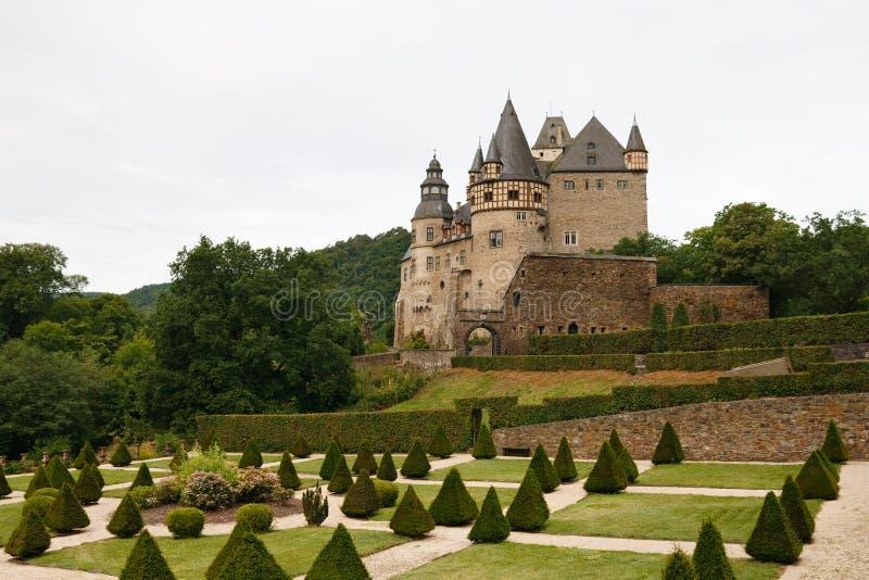 Schloss Buerresheim (castelo) de Burresheim, Alemanha foto de stock royalty free