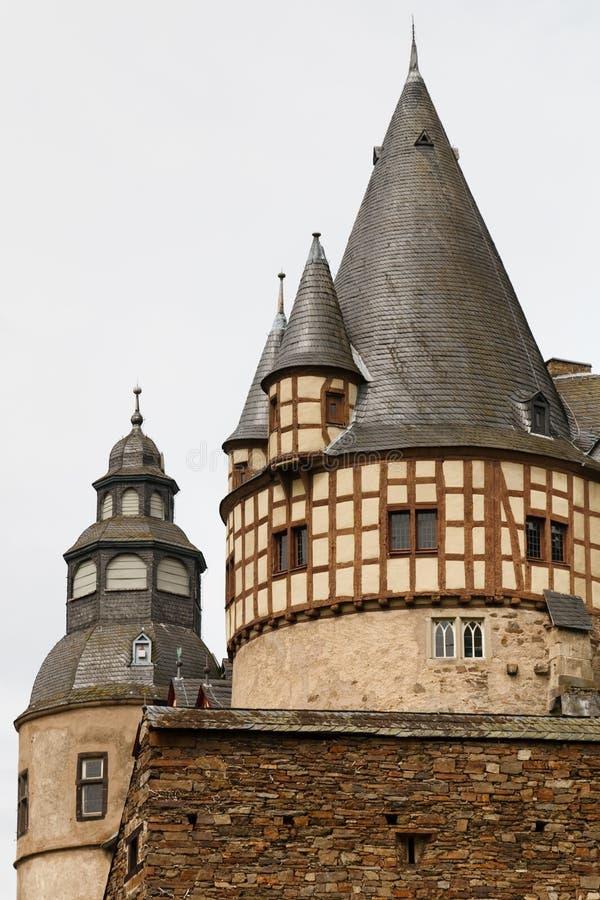 Schloss Buerresheim (castelo) de Burresheim, Alemanha imagem de stock
