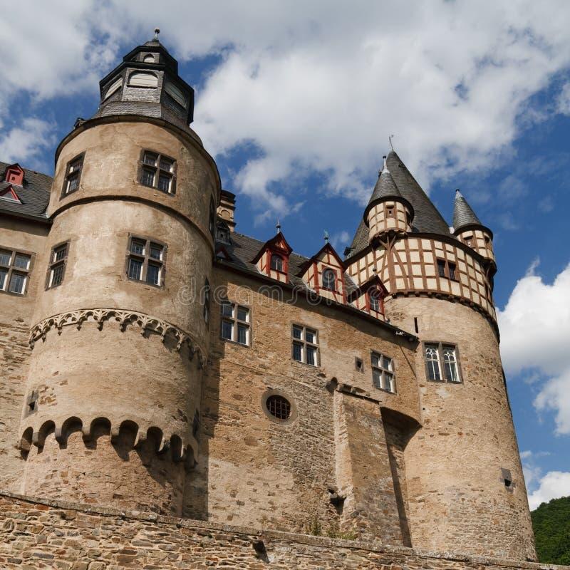 Schloss Buerresheim (castelo) de Burresheim, Alemanha fotografia de stock royalty free