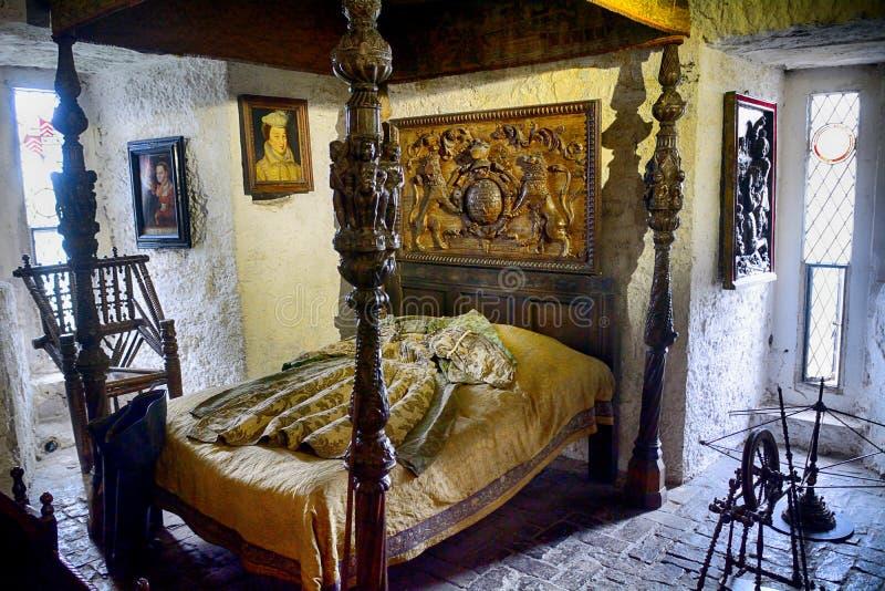 Schloss, Bunratty, Irland lizenzfreies stockfoto