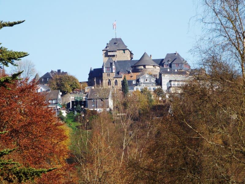 Schloss Burg stock photos