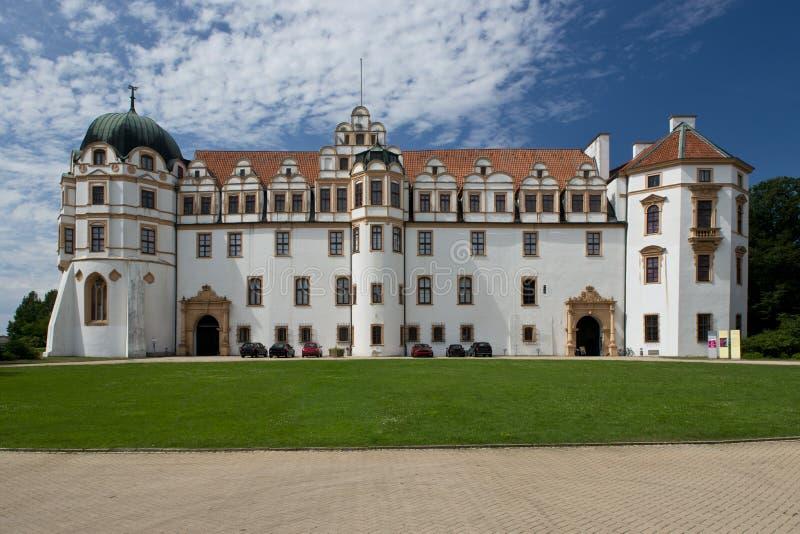 Schloss in Celle, Deutschland stockfotos