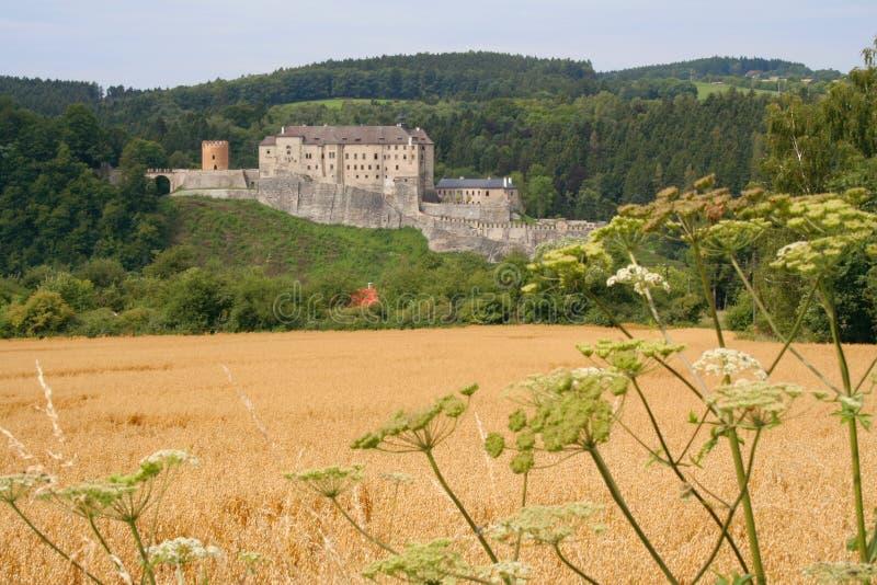 Schloss Cesky Sternberk stockfotos