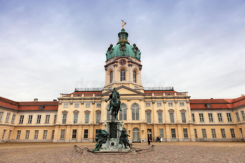 Schloss Charlottenburg image stock