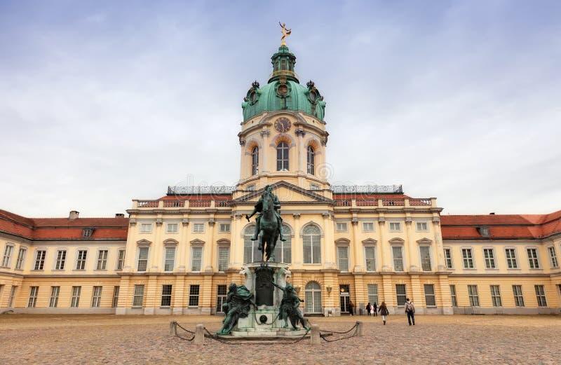 Schloss Charlottenburg royalty-vrije stock afbeelding