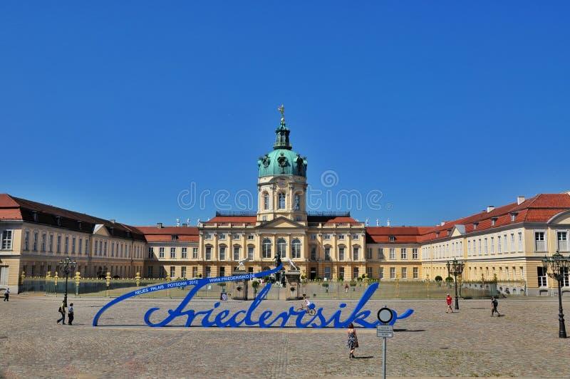 Schloss Charlottenburg en Berlín imágenes de archivo libres de regalías