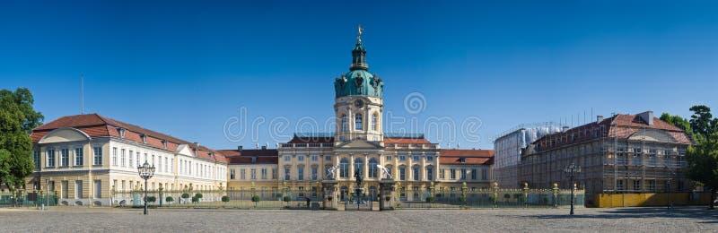 Schloss Charlottenburg slott, Berlin royaltyfri bild