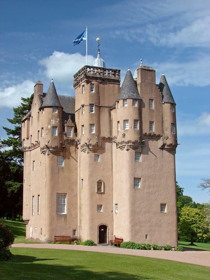 Schloss craigievar lizenzfreie stockbilder