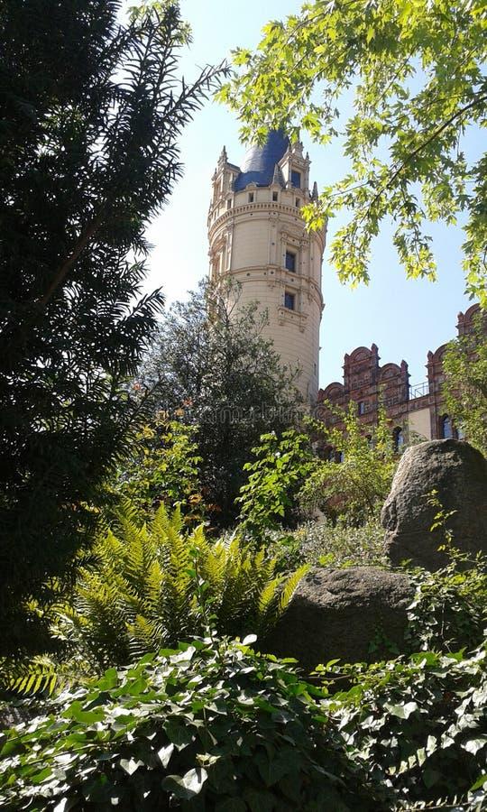 Schloss de Schweriner imagem de stock