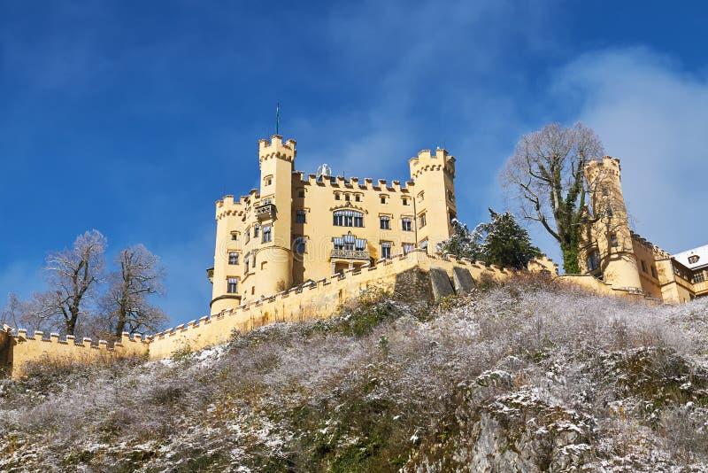 Schloss del castillo de Hohenschwangau imagenes de archivo