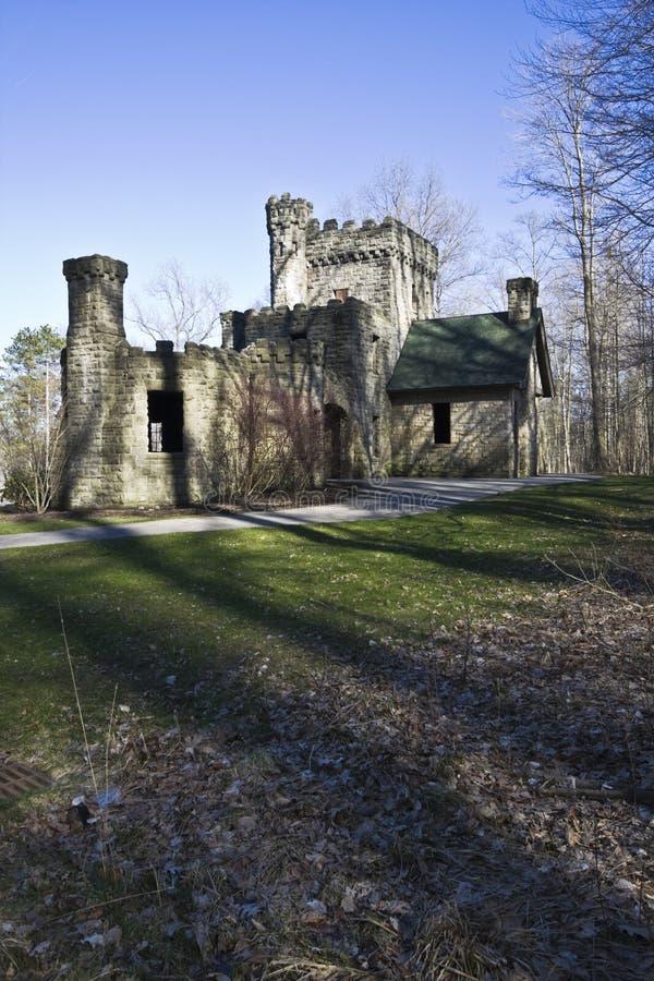 Schloss des Gutsherren stockbild