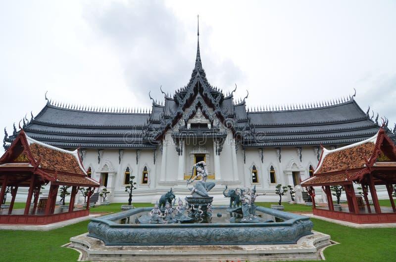 Schloss des hohen Alters in Thailand stockfoto