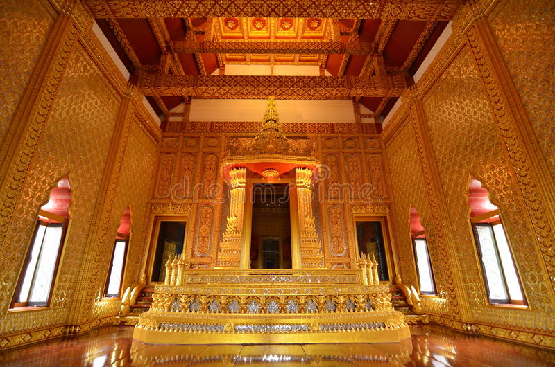 Schloss des hohen Alters in Thailand stockfotos