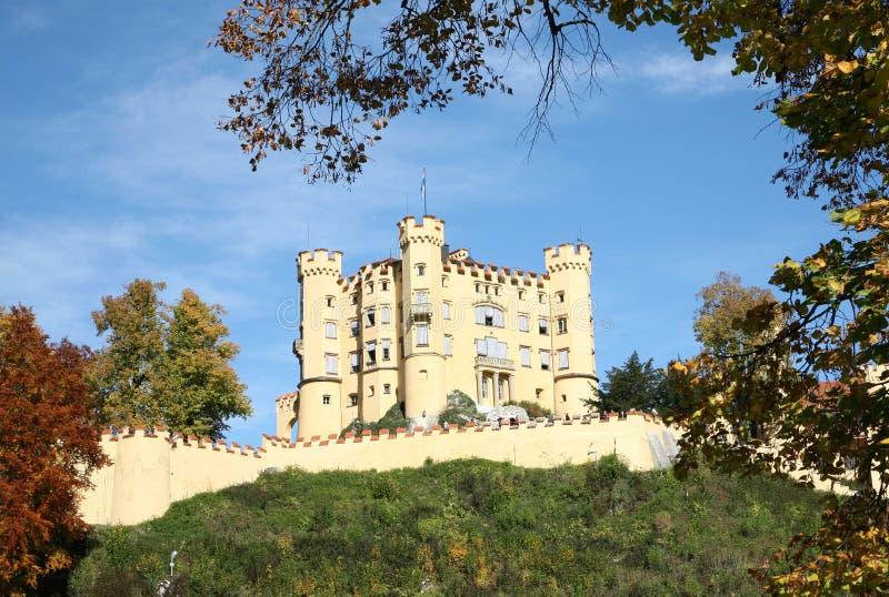 Schloss in Deutschland lizenzfreies stockfoto
