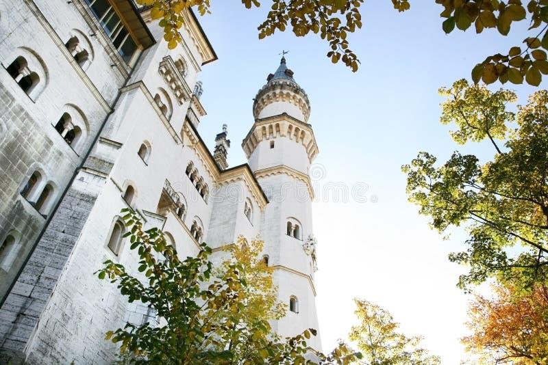 Schloss in Deutschland lizenzfreies stockbild